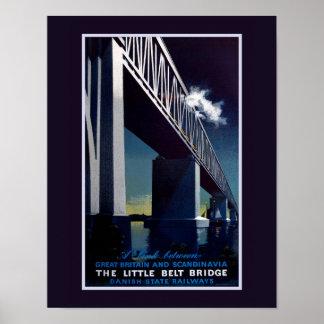 Little Belt Bridge Poster