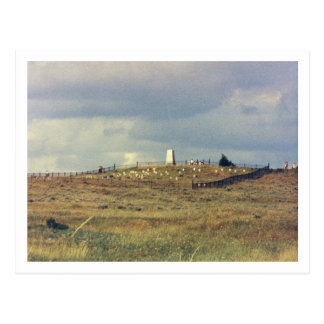 Little Bighorn Battlefield National Monument (phot Postcard