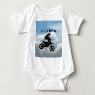 Little biker baby bodysuit