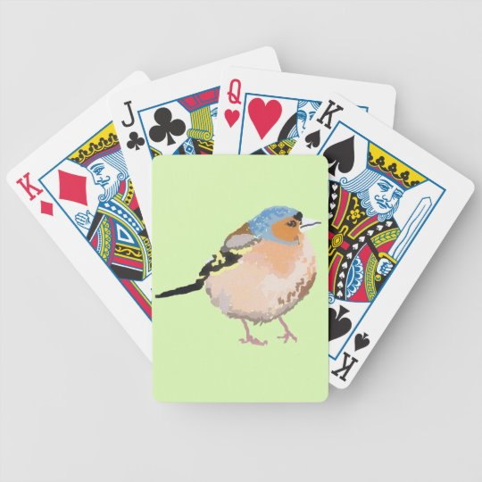 little bird bicycle playing cards