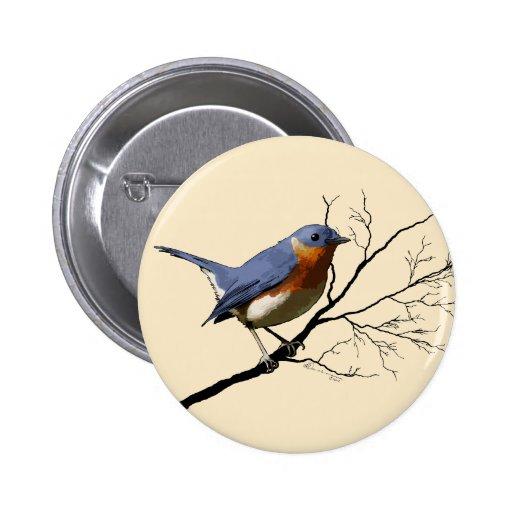 Little Bird Blue, pin