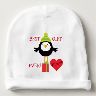 Little Bird Gift Baby Personalized Baby Beanie