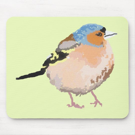 little bird mouse pad