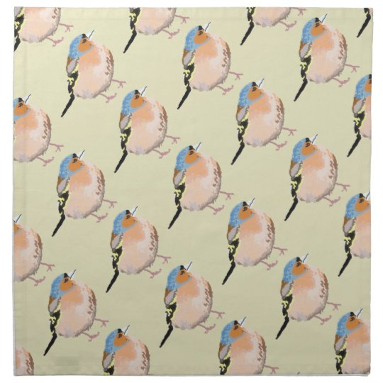 little bird napkin