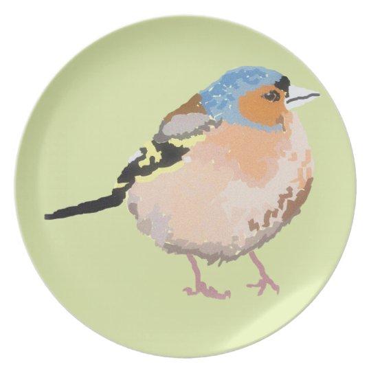 little bird plate