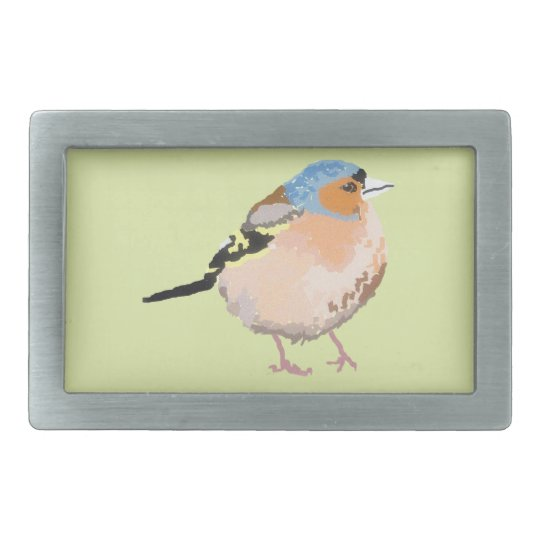 little bird rectangular belt buckle
