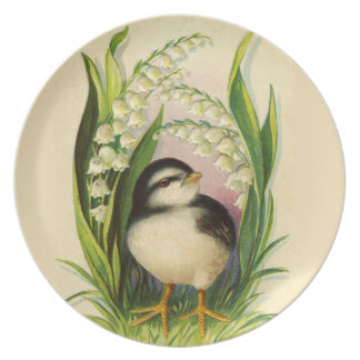 Little Bird Springtime Plate
