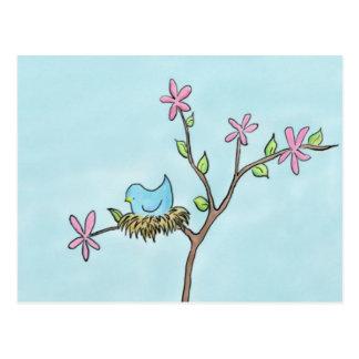 Little Birdie Postcard