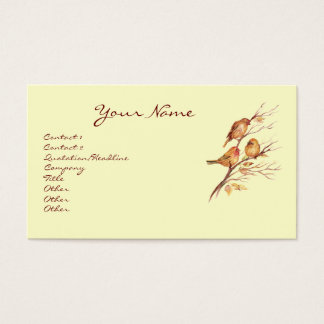 Little Birds  Business Card