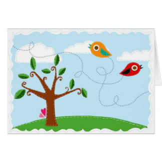 Little Birds Card