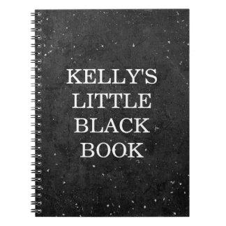 Little Black Book Chalkboard Style - Personalize