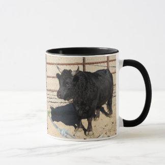 Little Black Bull Custom Coffee Mug