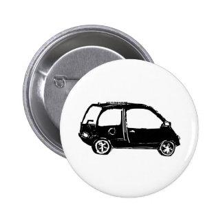 Little Black Car Buttons