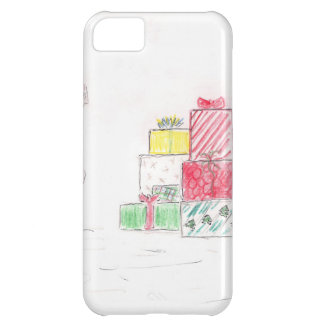 Little Blonde Girl with Presents Cover For iPhone 5C