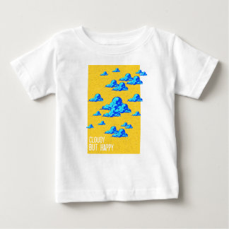 Little Blue Clouds Baby T-Shirt