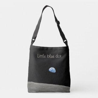 Little Blue Dot All-Over Printed Crossbody Bag