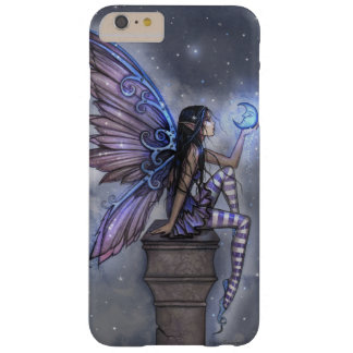 Little Blue Moon Fairy Faerie Fantasy Art Barely There iPhone 6 Plus Case