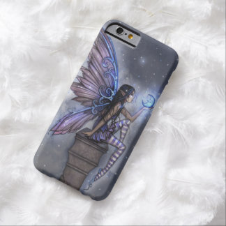 Little Blue Moon Fairy Faerie Fantasy Art Barely There iPhone 6 Case