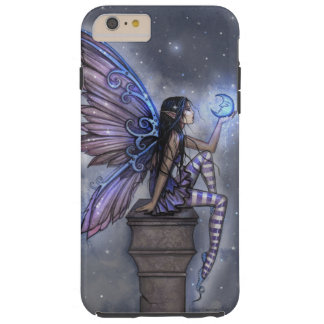 Little Blue Moon Fairy Faerie Fantasy Art Tough iPhone 6 Plus Case