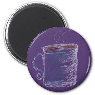 Little Blue Mug Magnet