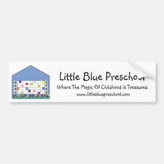Little Blue Preschool Bumper Sticker