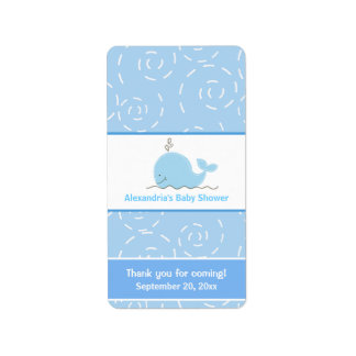 Little Blue Whale Miniature Candy Wrappers