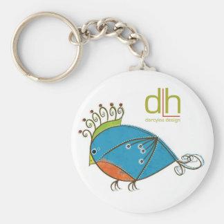 Little Bluebird Keychain