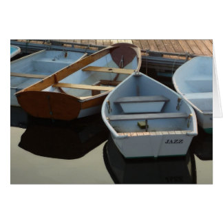 Little Boats: Jazz Card