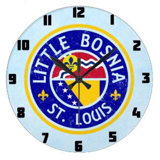 Little Bosnia St. Louis Clock