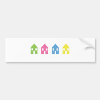 Little Boxes Bumper Sticker