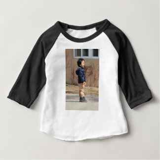 Little boy baby T-Shirt