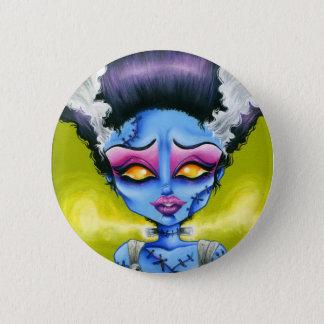 Little Bride of Frankenstein 2 Inch Round Button
