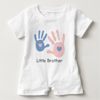 Little Brother Baby Romper