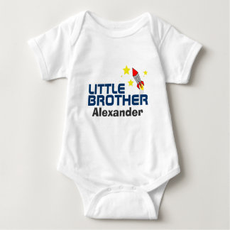 little brother BABY SHOWER matching gift set Baby Bodysuit