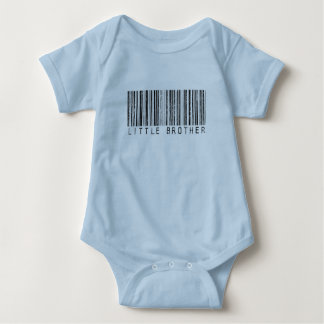 Little Brother Barcode Baby Bodysuit