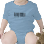 Little Brother Barcode Baby Bodysuits
