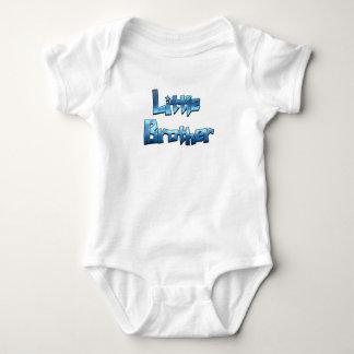 Little Brother Cool Blue Text Boy's Shirt