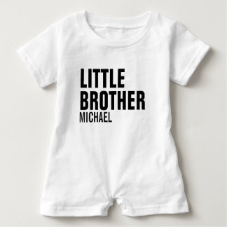 Little Brother Custom Baby Romper