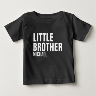 Little Brother Custom Baby T-Shirt