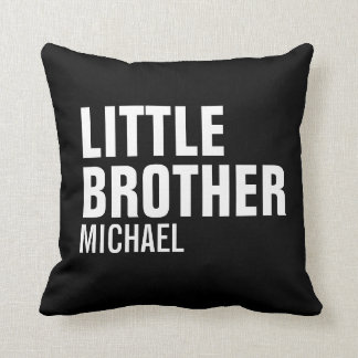 Little Brother Custom Throw Pillow