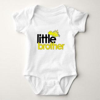little brother dinosaur new baby bodysuit