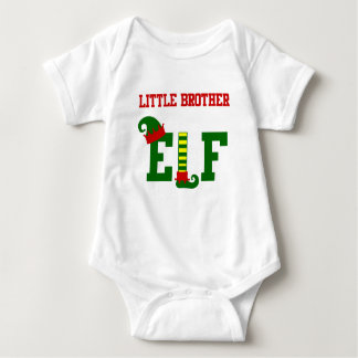 LITTLE BROTHER ELF BABY BODYSUIT