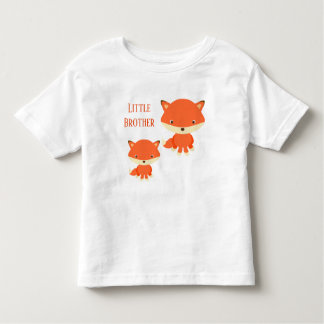 Little Brother Foxes Toddler T-shirt