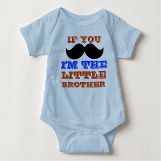 Little brother onsie baby bodysuit