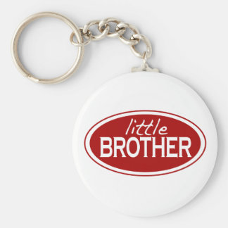 Little Brother (oval) Keychain