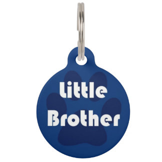 Little Brother Pet ID Tag
