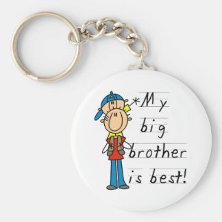 Little Brother T-shirts and Gifts Keychain