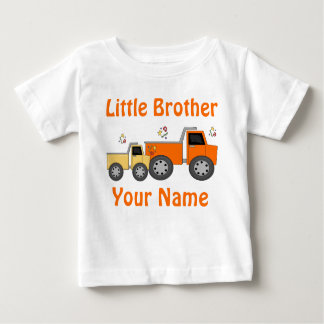 Little Brother Truck Personalized T-shirt