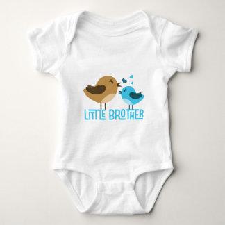 Little Brother with Birdies Baby Bodysuit