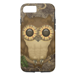 Little Brown Owl Case-Mate iPhone Case